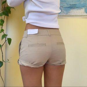 Women's Khaki tan Shorts Ann Taylor LOFT